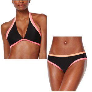 NEW Bikini Nation Colorblock 2 piece Bikini Set